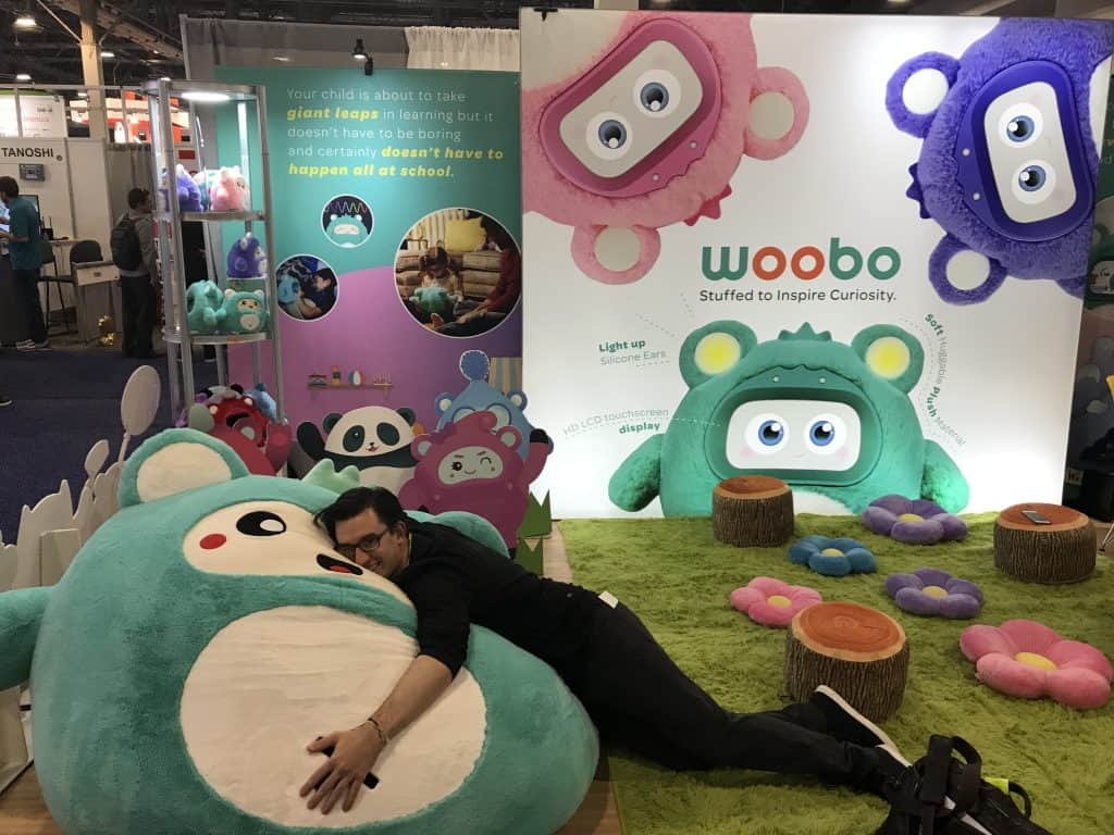 UP031: Woobo // a fuzzy, interactive robot companion for