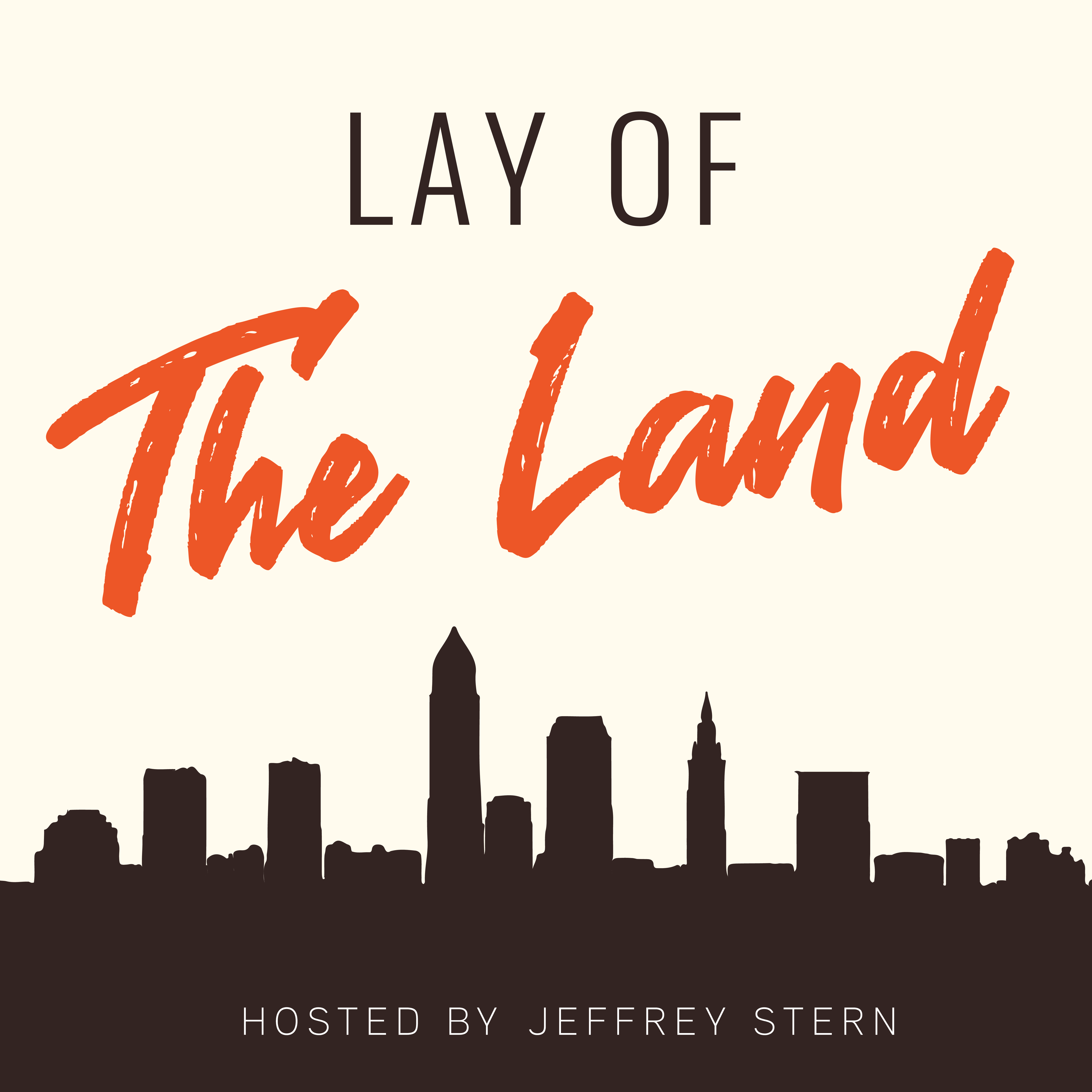 Lay of The Land podcast artwork